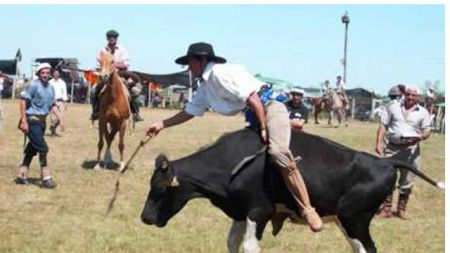 El encuentro convoca anualmente a los entusiastas de las faenas rurales.